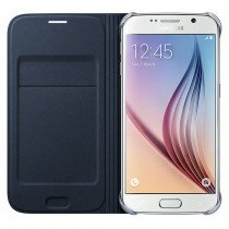 Flip Wallet Samsung Galaxy S6 zwart