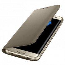 Flip Wallet Samsung Galaxy S7 Edge goud