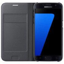 Flip Wallet Samsung Galaxy S7 zwart