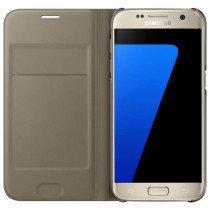 Flip Wallet Samsung Galaxy S7 goud
