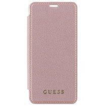 Guess Iridescent book case Samsung Galaxy S9 roze GUFLBKS9IGLTRG