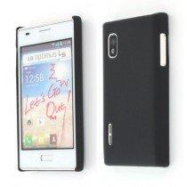 Hard case LG Optimus L5 E610 zwart