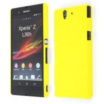 Hard case Sony Xperia Z geel