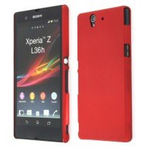 Hard case Sony Xperia Z rood