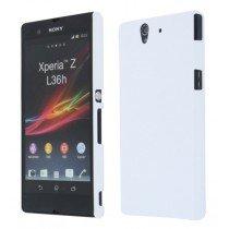 Hard case Sony Xperia Z wit