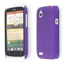Hard case HTC Desire X paars