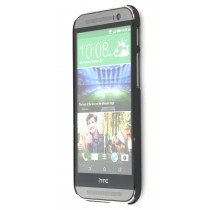 Hard case HTC One M8 zwart