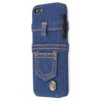 Hard case Apple iPhone 5C jeans blauw