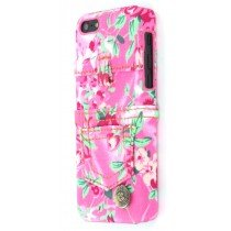 Hard case Apple iPhone 5C jeans roze