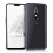 Hard case OnePlus 6 transparant - doorzichtig
