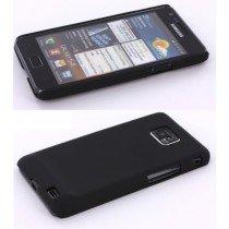 Hard case Samsung Galaxy S2 / S2 plus zwart