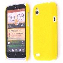 Hard case HTC Desire X geel