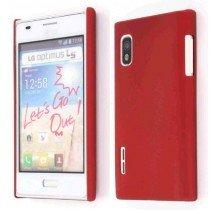 Hard case LG Optimus L5 E610 rood