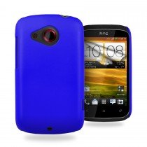 Hard case HTC Desire C blauw