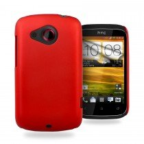 Hard case HTC Desire C rood