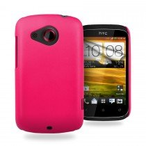 Hard case HTC Desire C roze