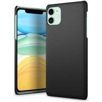 Hoesje Apple iPhone 11 hard case - mat zwart