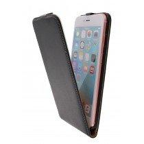 Hoesje Apple iPhone 6S Plus flip case dual color zwart