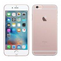 Achterkant - Hoesje Apple iPhone 6S Plus hard case transparant