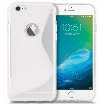 Hoesje Apple iPhone 6S Plus TPU case transparant