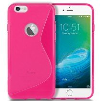 Hoesje Apple iPhone 6S TPU case roze