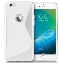 Hoesje Apple iPhone 6S TPU case transparant