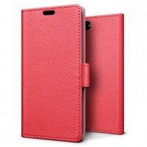 Hoesje Apple iPhone 7 flip wallet rood