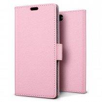 Hoesje Apple iPhone 7 flip wallet roze