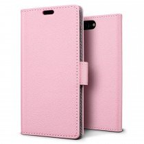 Hoesje Apple iPhone 7 Plus flip wallet roze