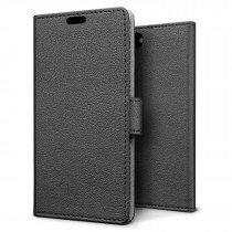 Hoesje Apple iPhone 8 flip wallet zwart
