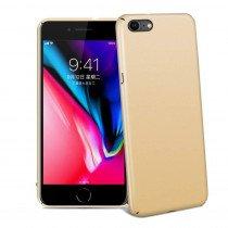 Hoesje Apple iPhone 8 hard case goud