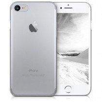 Hoesje Apple iPhone 8 hard case transparant