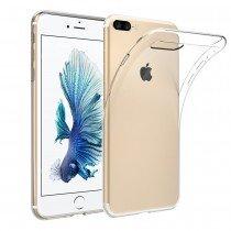 Hoesje Apple iPhone 8 Plus Flexi bumper - 0,3mm - doorzichtig