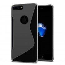 Hoesje Apple iPhone 8 Plus TPU case transparant