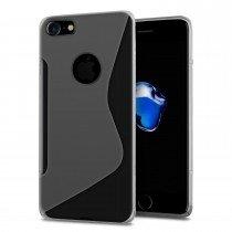 Hoesje Apple iPhone 8 TPU case transparant