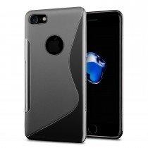 Hoesje Apple iPhone 8 TPU case zwart