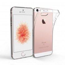 Hoesje Apple iPhone SE Flexi bumper - 0,3mm - doorzichtig