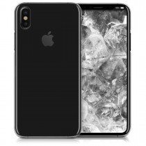 Hoesje Apple iPhone X hard case transparant