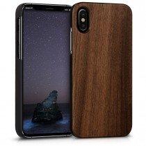 Hoesje Apple iPhone X hout - wood case