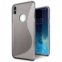 Hoesje Apple iPhone X TPU case smoke
