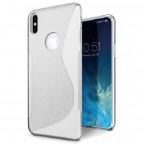 Hoesje Apple iPhone X TPU case transparant