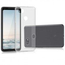 Hoesje Google Pixel 2 hard case transparant