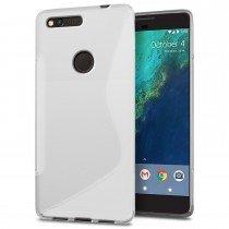 Hoesje Google Pixel TPU case transparant