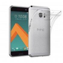 Hoesje HTC 10 flexi bumper - 0,3mm - doorzichtig