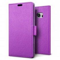 Hoesje HTC 10 flip wallet paars