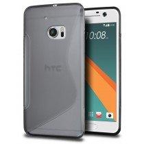 Hoesje HTC 10 TPU case smoke