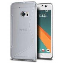 Hoesje HTC 10 TPU case transparant