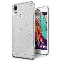 Hoesje HTC Desire 10 Pro TPU case transparant