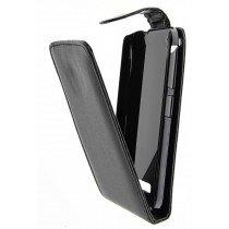 Hoesje HTC Desire 320 flip case zwart