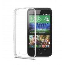 Hoesje HTC Desire 320 hard case transparant
